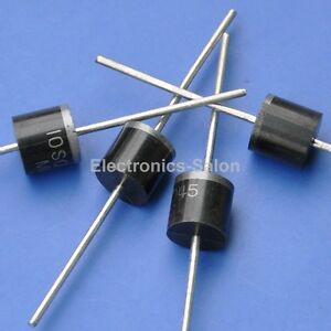 100pcs 10amp Bypass Blocking Diode For Diy Solar Cells Panel 10sq045 Schottky