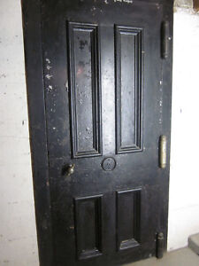 Martin Briggs Vault Safe Door Trim Casing Fire Door Antique 1858 Old Bank