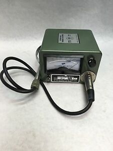 Vintage Hastings teledyne Air Meter 0 5000 Fxm Model Ab 27