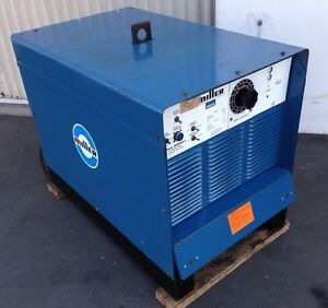 Miller Gold Star 300 Ss Direct Current Arc Welder Welding Power Source