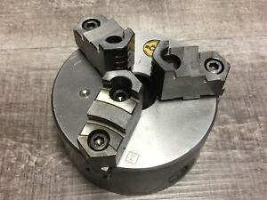 Nice Rohm 5 3 Jaw Chuck W Plain Back Mount