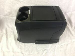 New Takeouts Center Console Black With Woodgrain Top Truck Van Bus Hotrod Boat