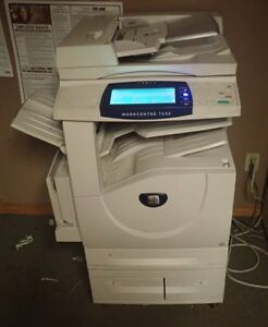 Xerox Workcentre 7232 Print Copy Fax Email Network Scanning