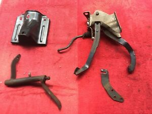 1978 87 Chevy Malibu Elcamino Cutlass Regal G Body Oem Clutch Pedals W linkage