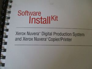 Oem Xerox Nuvera Digital Production System Software Install Kit