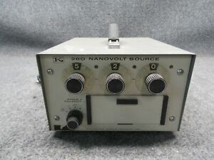 Keithley Instruments 260 Nanovolt Source tested Working