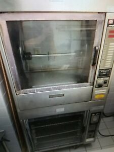 Henny Penny Tr 6 Electric Chicken Rotisserie Oven On Hr 6 Display
