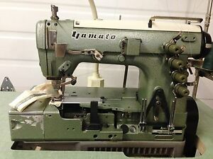 Yamato Dw 1503me Coverstitch Binder New 110v Motor Industrial Sewing Machine
