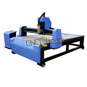 3kw Wood Cnc Router Engraving Drilling Machine 1300 X 2500mm Water Cooling