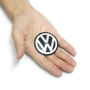 45mm 1 77 Epoxy Domed Steering Wheel Center Logo Emblem Sticker Decal For Vw