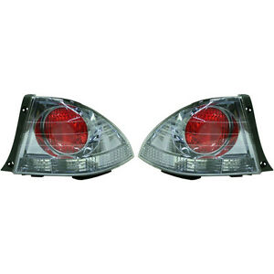 New Tail Light Lens And Housing Set Of 2 Lh Rh Fits 2001 Lexus Is300