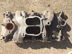 Edelbrock 2101 Performer Intake Manifold Chevy Sbc 283 327 350 Rat Hot Rod