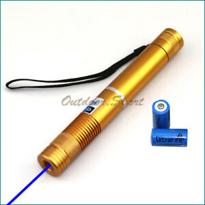 2wgbe4 a 450nm Adjustable Focus Blue Laser Pointer Burning Light Cigarettes