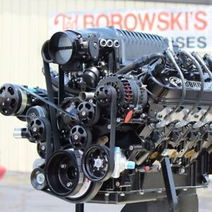 1 000 Horsepower Whipple Supercharged Ls7 Includes Serpentine System Holley