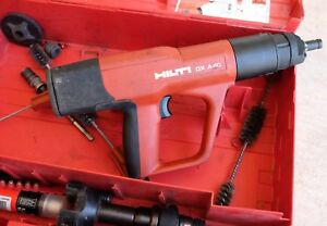 Hilti Dx A40 Powder Actuated Fastener Concrete Nailer Used