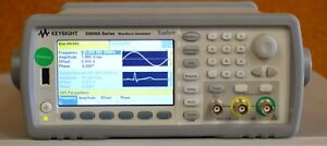 Agilent Keysight 33612a 2 channel 80mhz Function arbitrary Waveform Generator