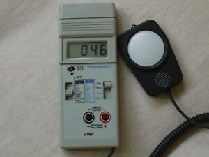 Vwr Light Meter With Outputs 62344 944 Excellent Condition Works Great
