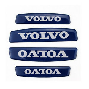 4x Car Door Edge Guard Scratch Protector Anti Collision Trim Stickers For Volvo