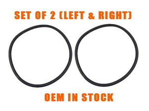 Porsche 911 912 930 964 Headlight To Fender Rubber Seal Set New Oem