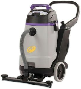 Commercial Wet Dry Vacuum Cleaner Proteam Professional grade 15gal W Tool Kit
