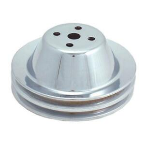 Spectre 4378 Chrome Water Pump Pulley Chevy 265 350 Gmc 283 327