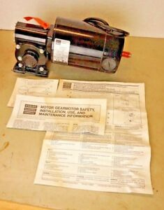 Bodine 42a5fepm 5n Dc Right Angle Gearmotor 1 4 Hp 62 Rpm 40 1 Ratio 79 Lb in