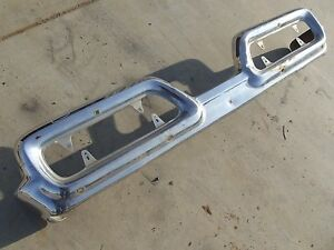 1958 Mercury Turnpike Cruiser Rear Bumper