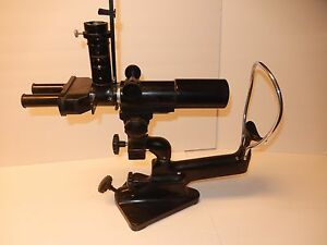 Vintage Bausch Lomb Optical Microscope No 11316