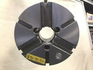 Warner Swasey 12 3 Jaw Self Centering Manual Chuck A 8 Mount M 4210