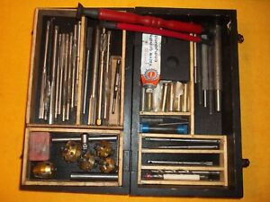 Neway Valve Seat Cutter Set With Reamers Guides More In Wood Box