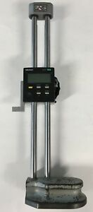 Mitutoyo 192 630 Digimatic Height Gage 0 12 0 300mm Range 0005 0 01mm