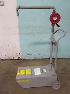 frymaster psdu50 Commercial 50lbs Capacity Fry Oil Cart Disposal System W pump