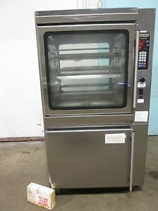 hobart Ka7e H d Commercial Dual Phase Electric Chicken rib Rotisserie Oven