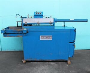 Mini broach 2 1 2 Ton X 28 Stroke Horizontal Broaching Machine Model A