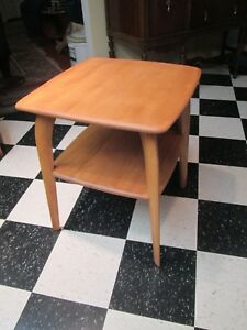 Heywood Wakefield Mid Century End Table Model M337g Just Refinished