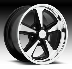 Cpp Us Mags U109 Bandit Wheels 17x8 Fr 18x9 Rr Fits Ford Mustang Gt Shelby