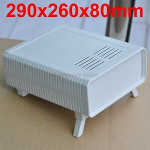 1pcs Hq Instrumentation Abs Project Enclosure Box Case White 290x260x80mm