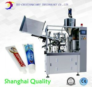 Sealing Machine Tube tooth Paste Filling And Sealing Machine soft Tube Filling