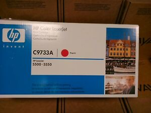 Oem Hp Color Laserjet Toner Catridge C9733a 550 5550 Expired 2009