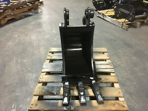 New 12 Heavy Duty Excavator Bucket For A Hyundai R352 9 W Coupler Pins