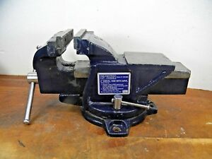 Pre owned Central Forge 38388 4 Swivel Vise W Anvil