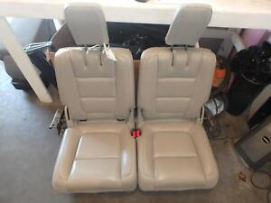 11 14 Ford Explorer 3rd Row Rear Seat Tan Leather Manual Oem
