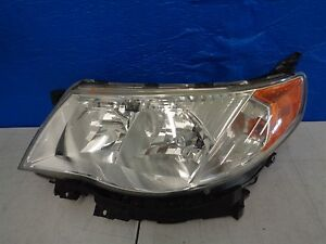 2009 2010 2011 2012 2013 Subaru Forester Left Headlight Halogen