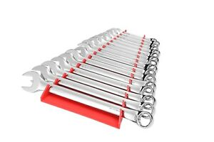 Ernst 5160 Rd Wrench Organizer Tray Holds 16 Wrench Reverse Facing Red