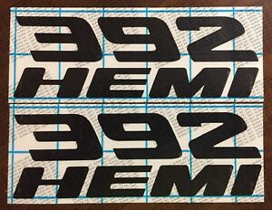 392 Hemi Decal Sticker Dodge Charger Challenger 17 Colors To Choose From