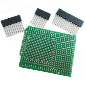 Prototype Pcb For Arduino R3 Shield Board Diy Combo 2mm 2 54mm Pitch