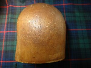 Millinery Wood Hat Block 19th Century 21 Inch Cir