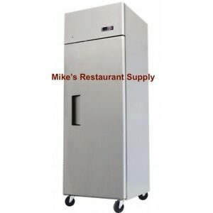 New 1 Door Reach In Freezer Stainless Steel 8266 Commercial Restaurant Etl nsf