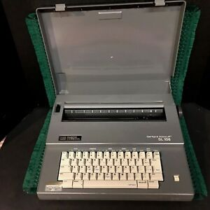 Mint Smith Corona Spell Right Ii Dictionary Sl105 Electric Typewriter W case