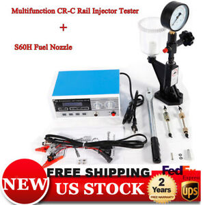 220v Cr c s60h Electromagnetic Injector Tester Fit For Bos c den so Diesel